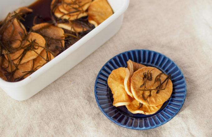 [今月のRemind 1月編] 干して漬けるだけ!冬の簡単常備菜「干し大根の醤油漬け」