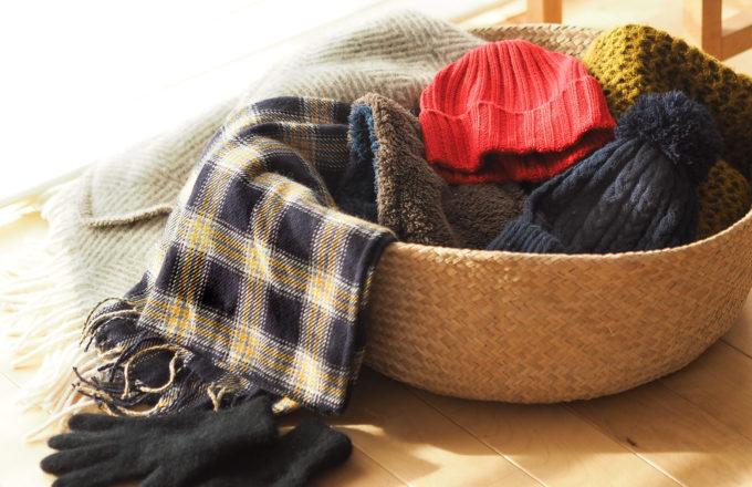 [今月のRemind 1月編] マフラーに手袋、ニット帽。冬の小物をお手入れしよう