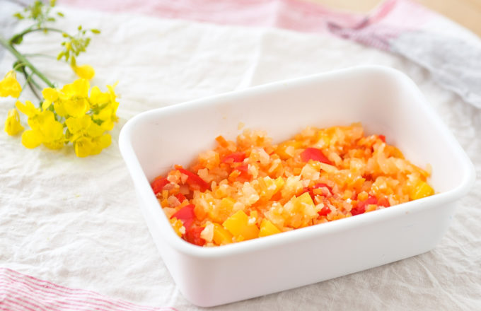 [今月のRemind 4月編] 春らしいカラフルな常備菜「彩り野菜のミックスマリネ」