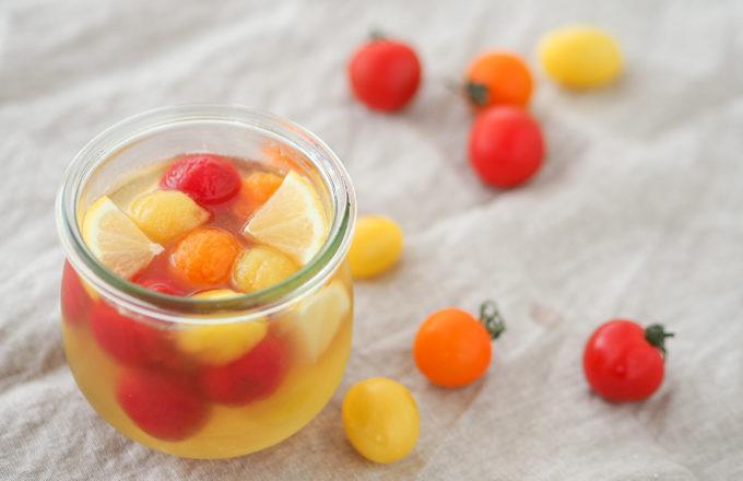 [今月のRemind 5月編] フルーツ感覚で味わう「ミニトマトの即席ピクルス」