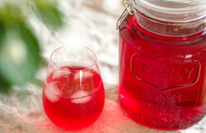 [今月のRemind 6月編] 鮮やかな夏色がキレイ!「赤しそシロップ」