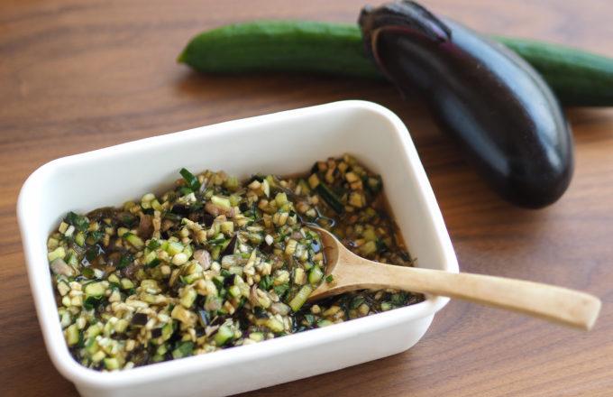 [今月のRemind 8月編] 栄養豊富で夏に嬉しい常備菜、薬味たっぷりの「だし」